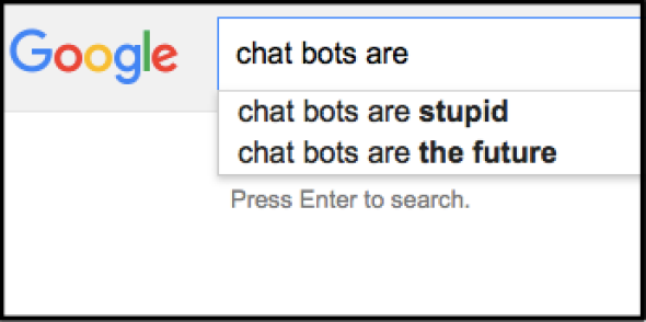 Dumb chatbots aren't such a dumb idea…